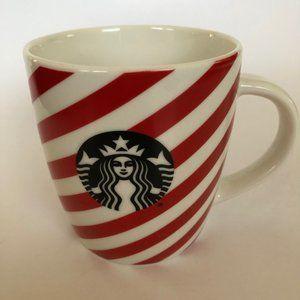 Starbucks Striped Mug Black Logo 12 oz
